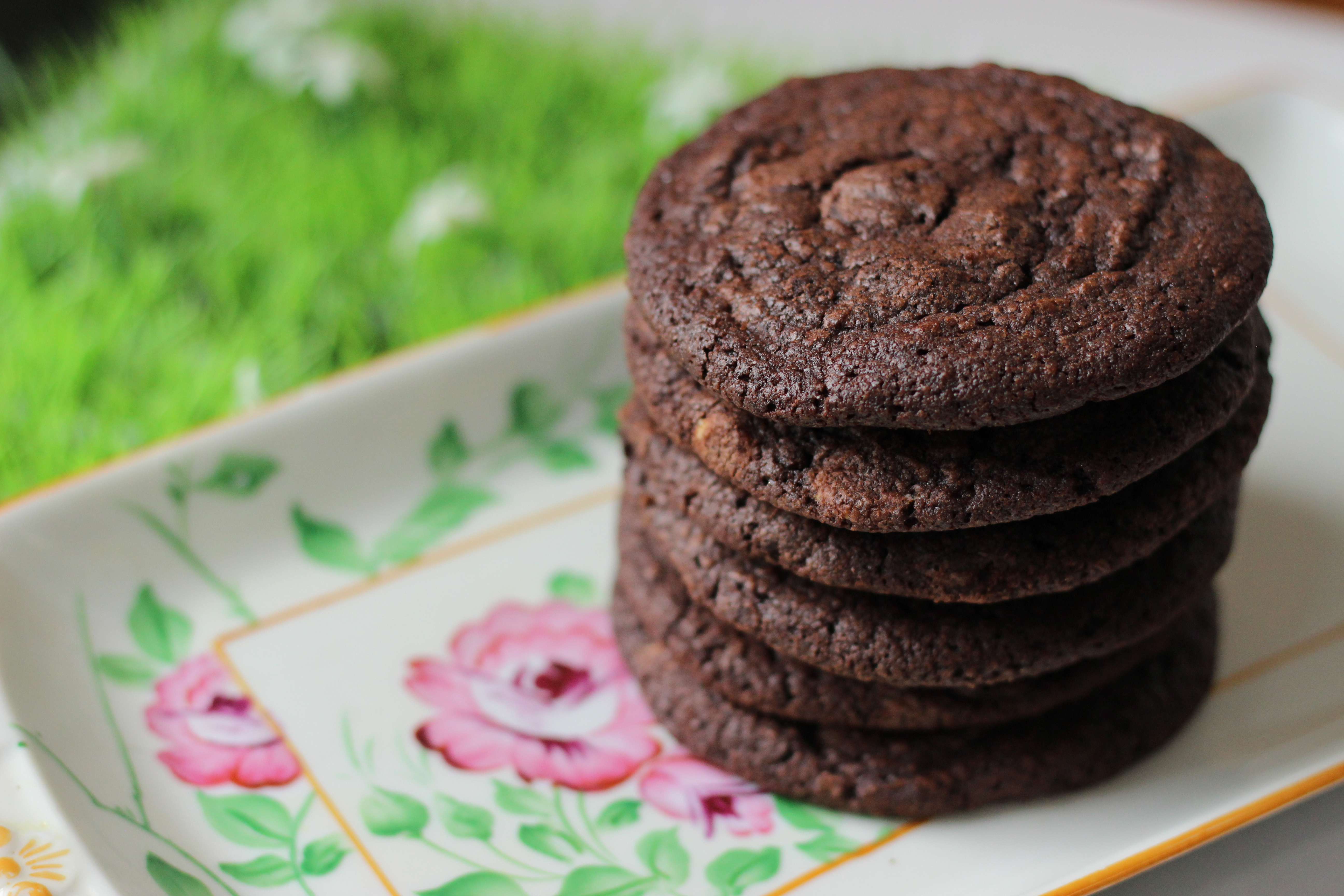 Rocket Bakery's new Triple Chocolate Cookie with Milk, Dark and White Chocolate