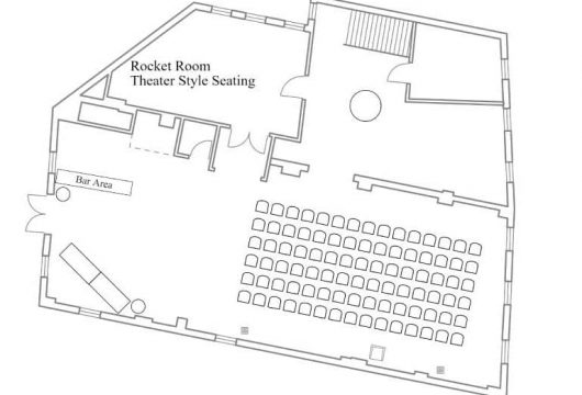 Theater-Style Seating Facing-White-Wall